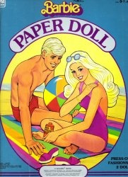 Barbie paper doll