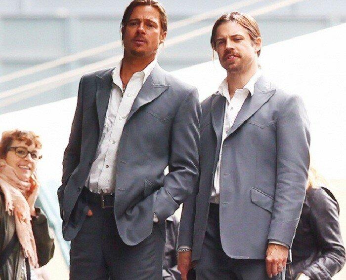 Rick Inglish - почти что альтер эго актера Brad Pitt.