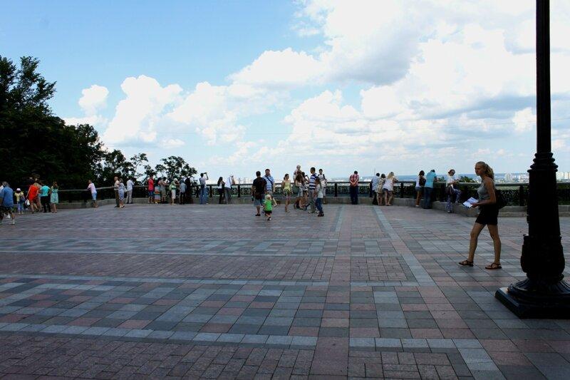Новая площадка обозрения в Мариинском парке