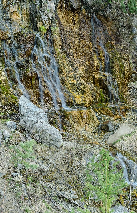 21.Самый большой водопад в карьере Старая линза