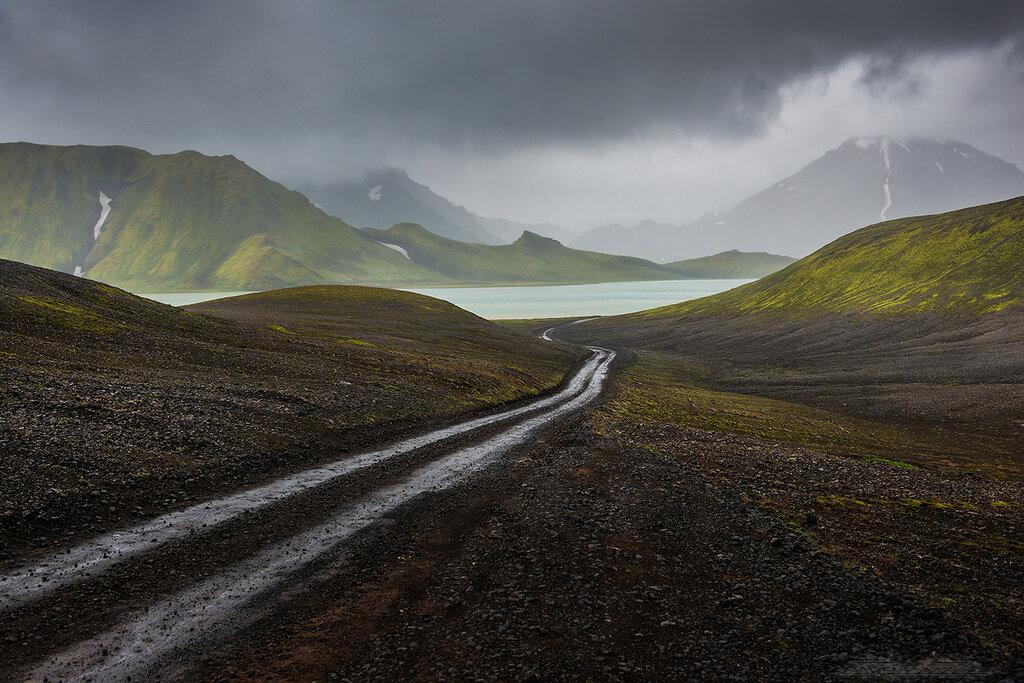 Путь среди вулканов