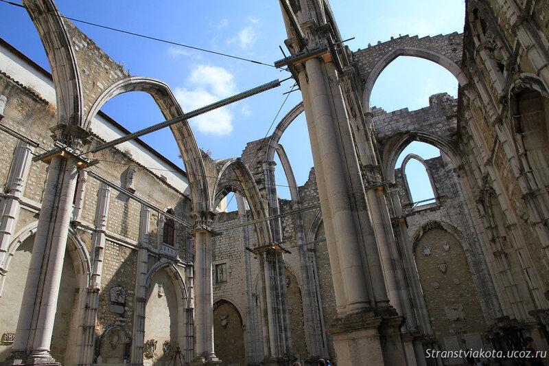 Португалия, Лиссабон, монастырь Карму