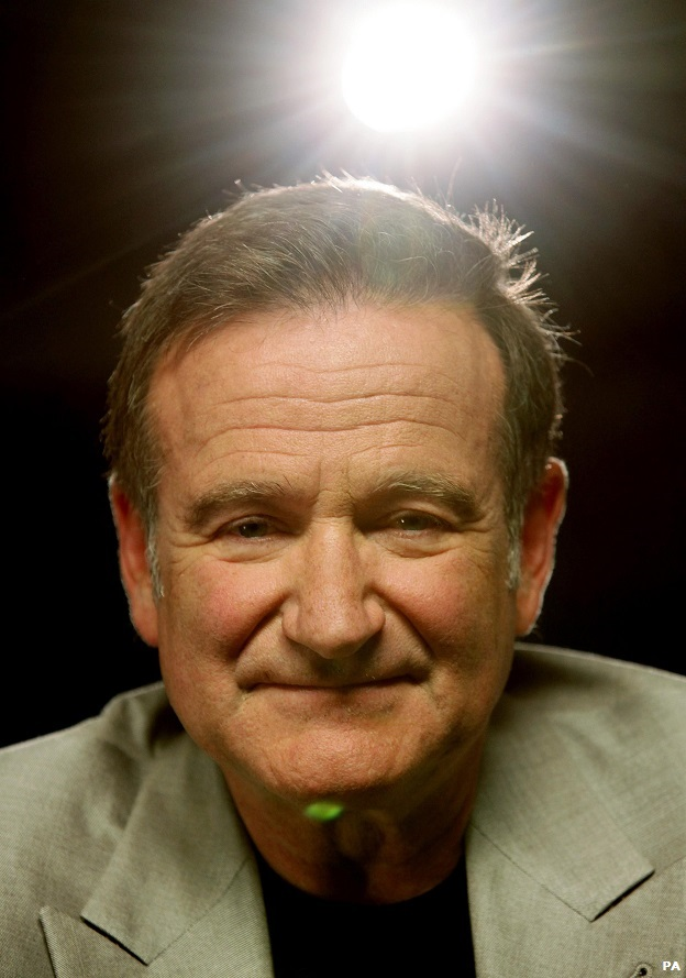 File photo dated 1/7/2010 of actor Robin Williams who has been found dead at his home in California, Marin County Sheriff's Office said. PRESS ASSOCIATION Photo. Issue date: Tuesday August 12, 2014. See PA story DEATH Williams. Photo credit should read: Y