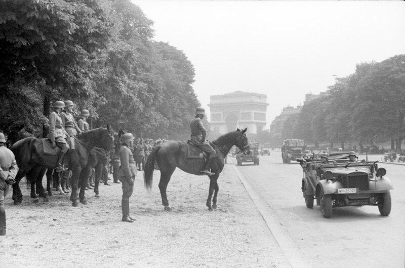 La campagne de l'Ouest 10 mai – 22 juin 1940.Le travail des compagnies de propagande allemandes.