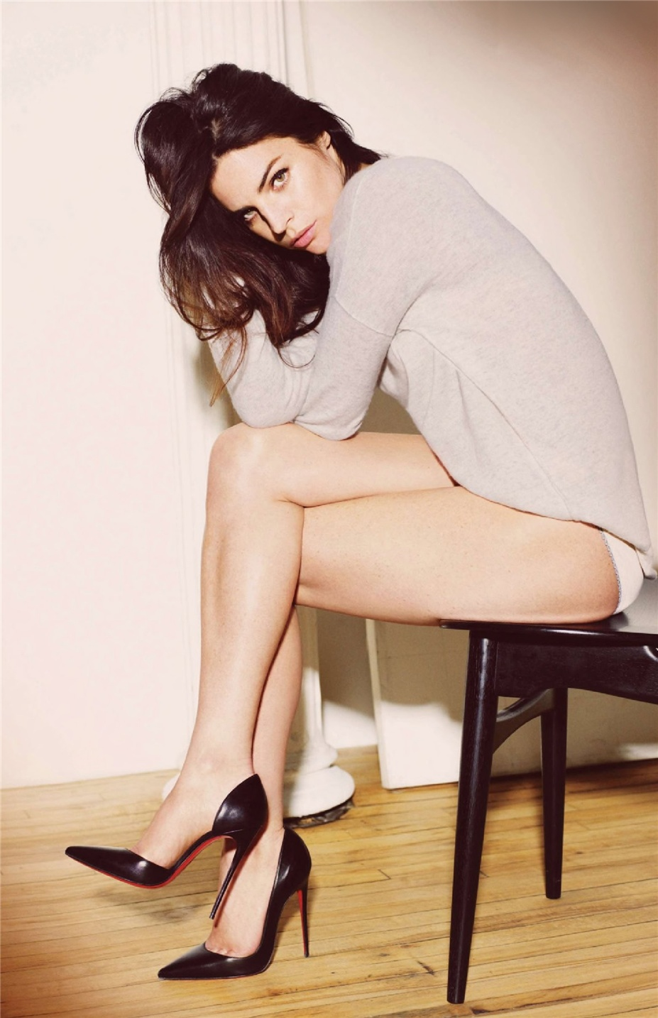 Джулия Рестон Ротфильд / Julia Restoin Roitfeld by Guy Aroch in GO UK September 2014