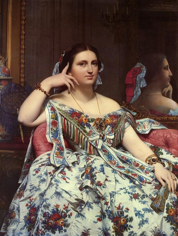 Жан Огюст Доминик Энгр, Портрет мадам Муатесье, сидя, 1856