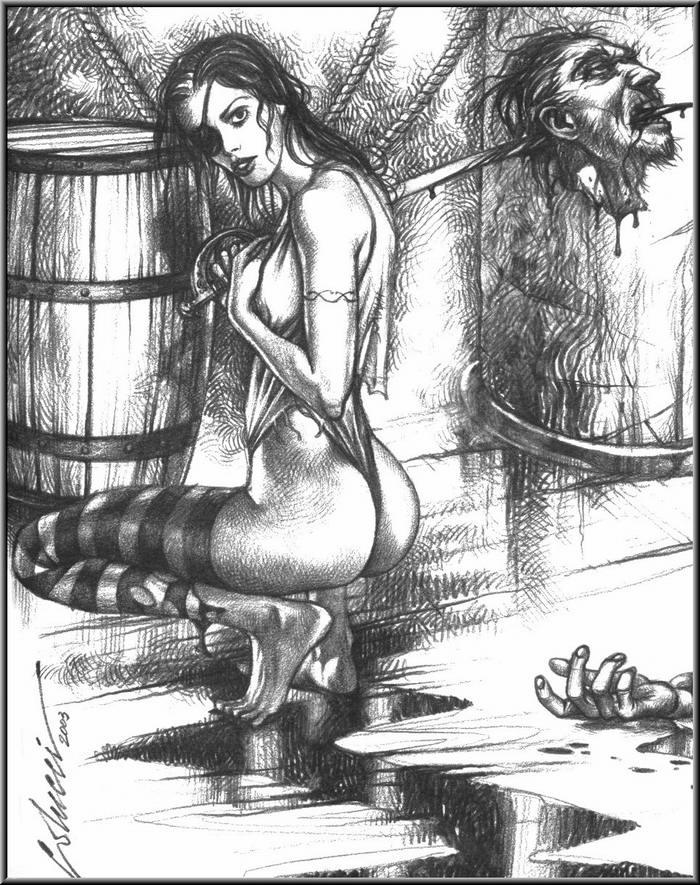 Графика: истории из жизни девушек - пираток (56)