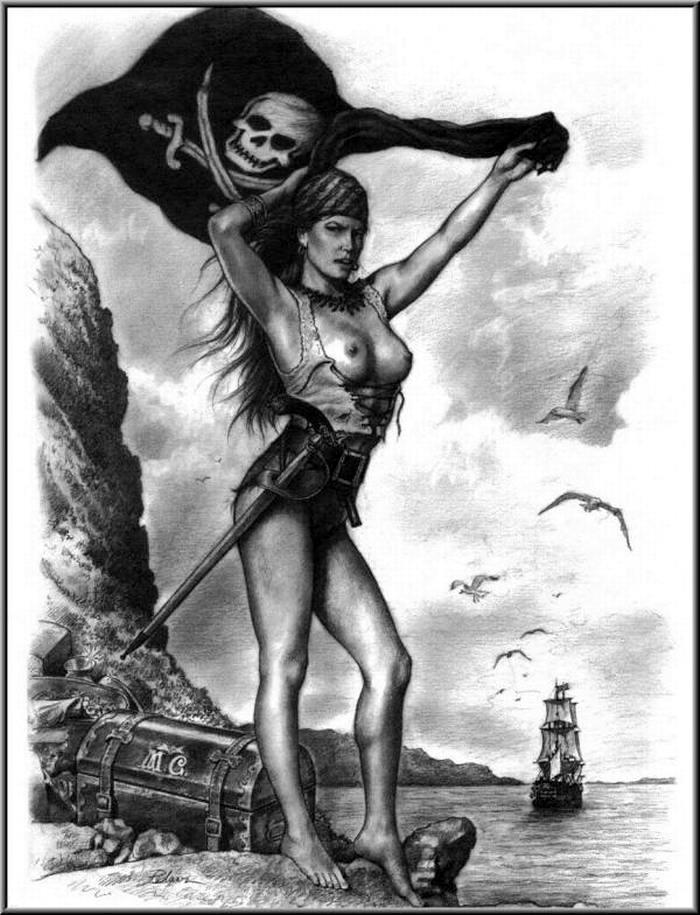 Графика: истории из жизни девушек - пираток (63)