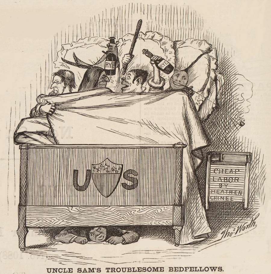 Очень неприятные парни в одной кровати с дядей Сэмом