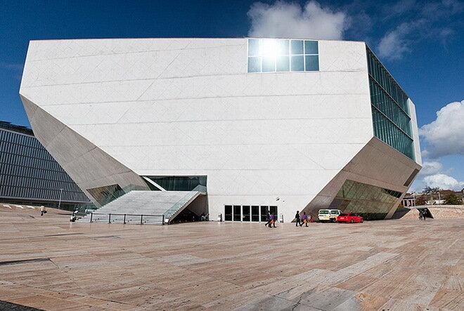 Дом музыки (Casa da Música). Порту, Португалия