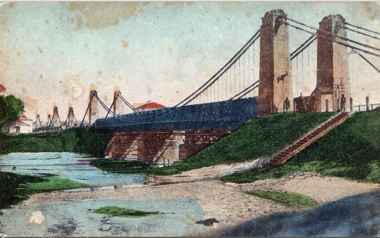 Вид цепных мостов