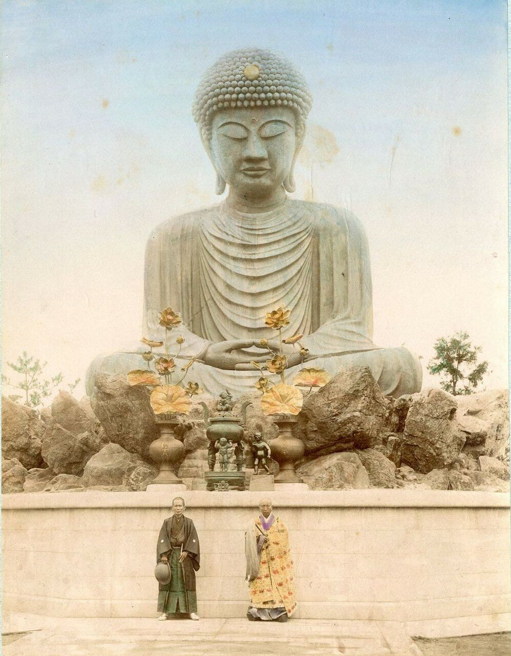 Киото. Храм Тофуку-дзи. Большой Будда