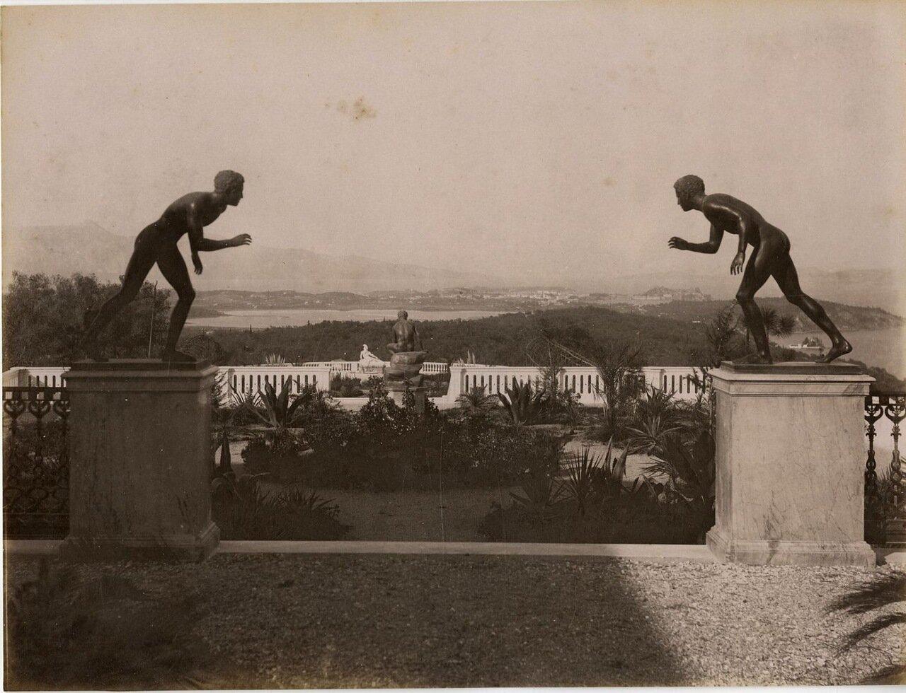 16. Вид из дворца