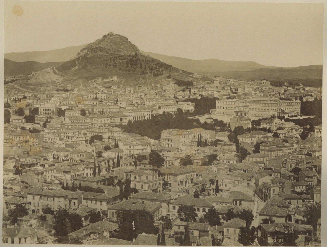 1880. Вид на Ликабет