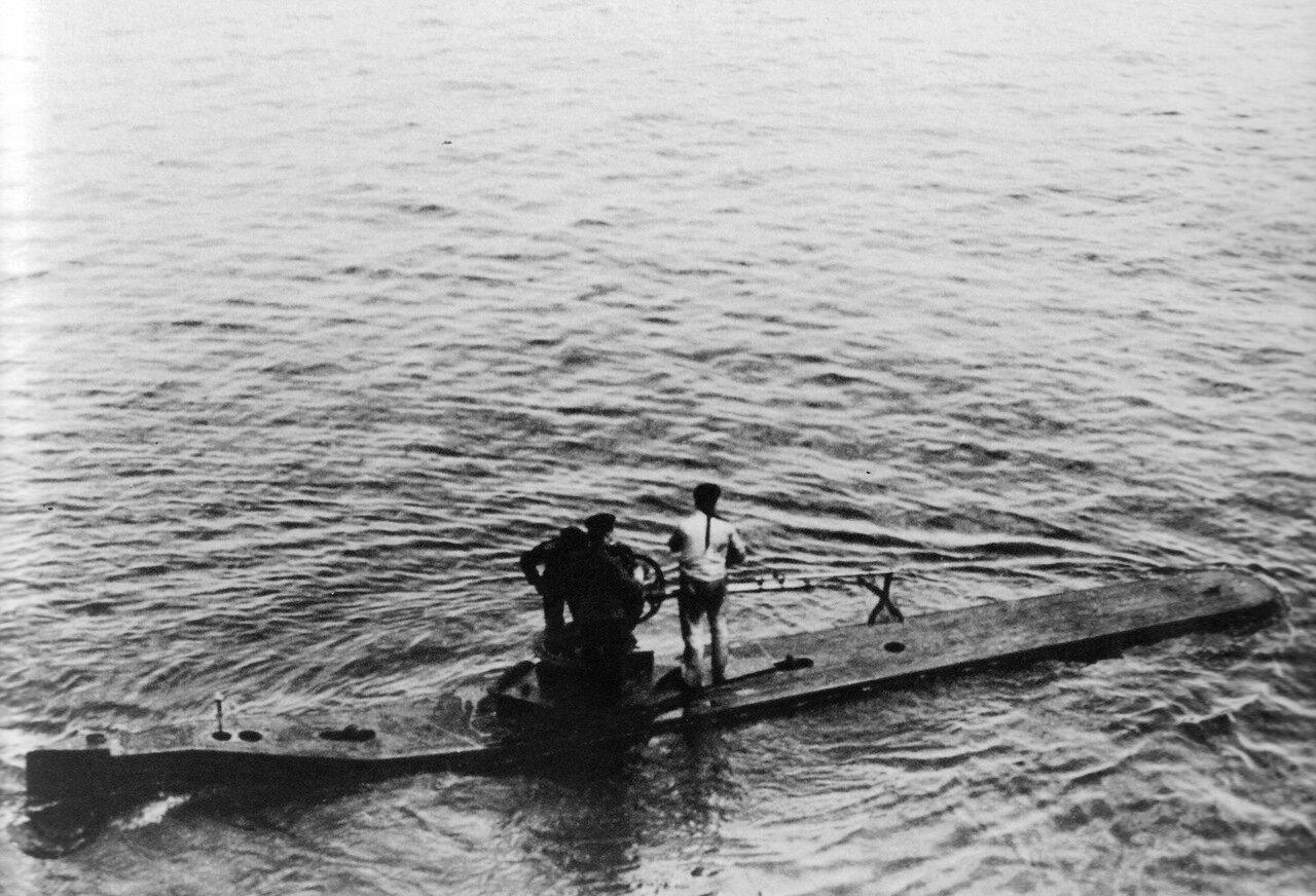 полуподводная лодка кета