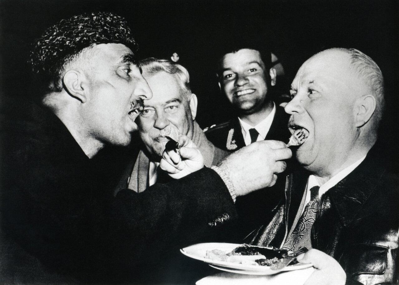1956. Визит Никиты Хрущева в Индию