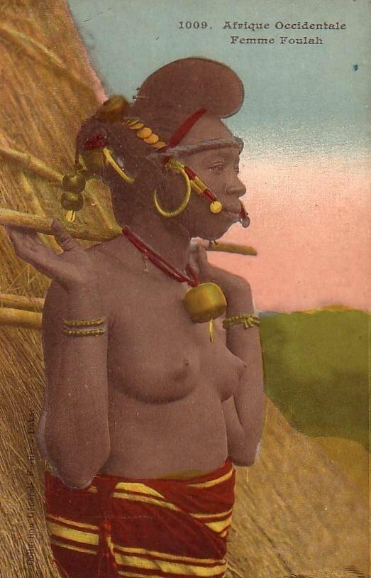 1009. Женщина народа фула