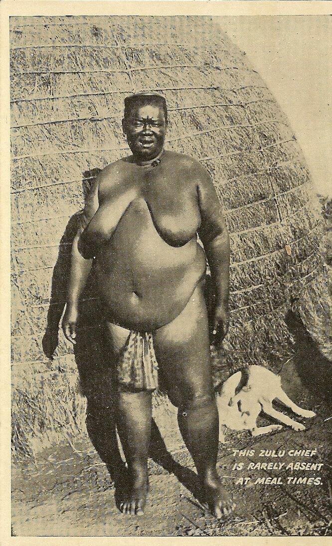 Женщина зулу