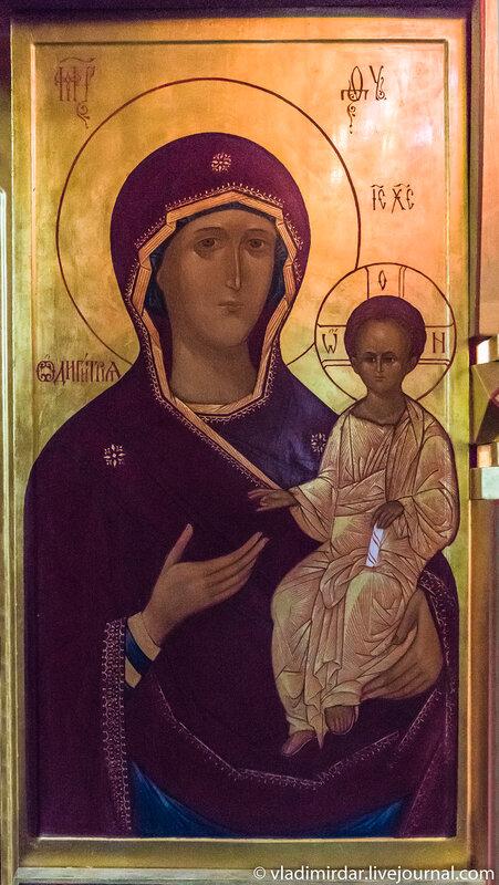 Икона Богородицы Одигитрия