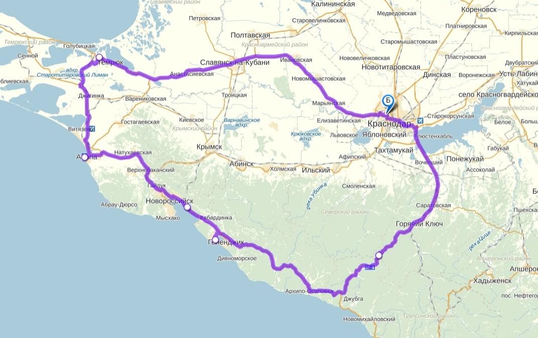 Ниже карта.