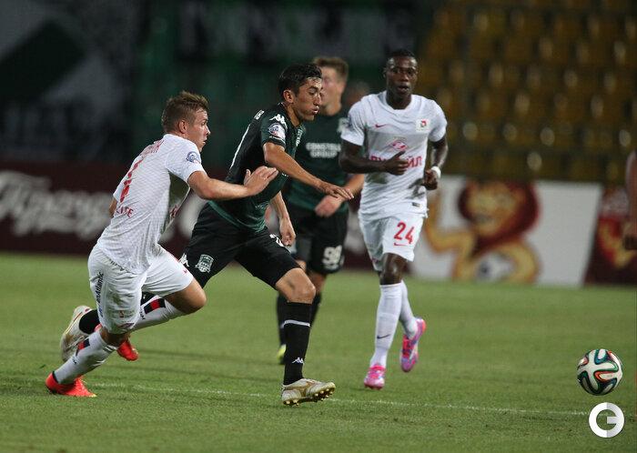 «Краснодар» vs «Спартак» 4:0 Премьер-лига 2014-2015 (Фото)