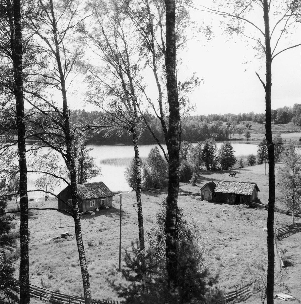 Västra Götaland, Tranemo, Ljungsarp, Västergötland, Byggnader-Jordbruk-Bondgård