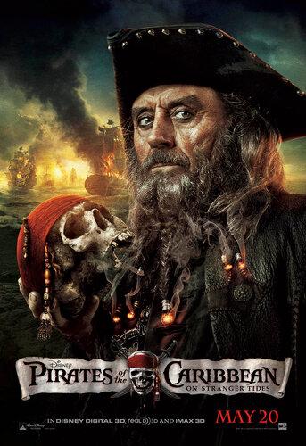 Постер ПКМ 4. Черная Борода.