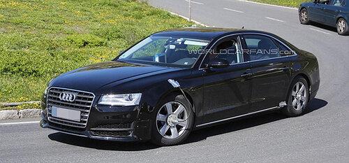 Новое поколение Audi А8 на очереди