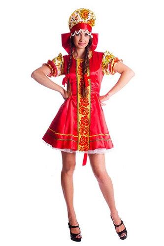 Женский карнавальный костюм Народный Узор