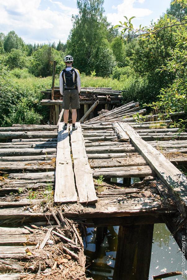 мост сломан