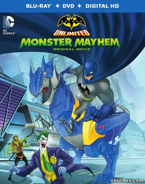 Безграничный Бэтмен: Хаос / Batman Unlimited: Monster Mayhem (2015/BDRip/HDRip)