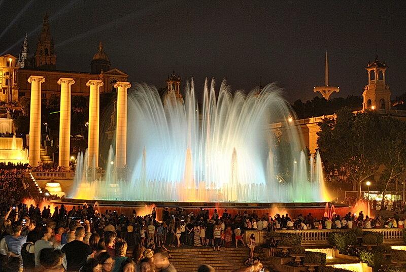 Чудесный вечер в Барселоне