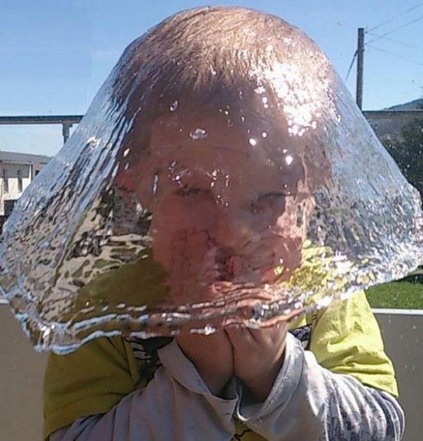 шапка из воды