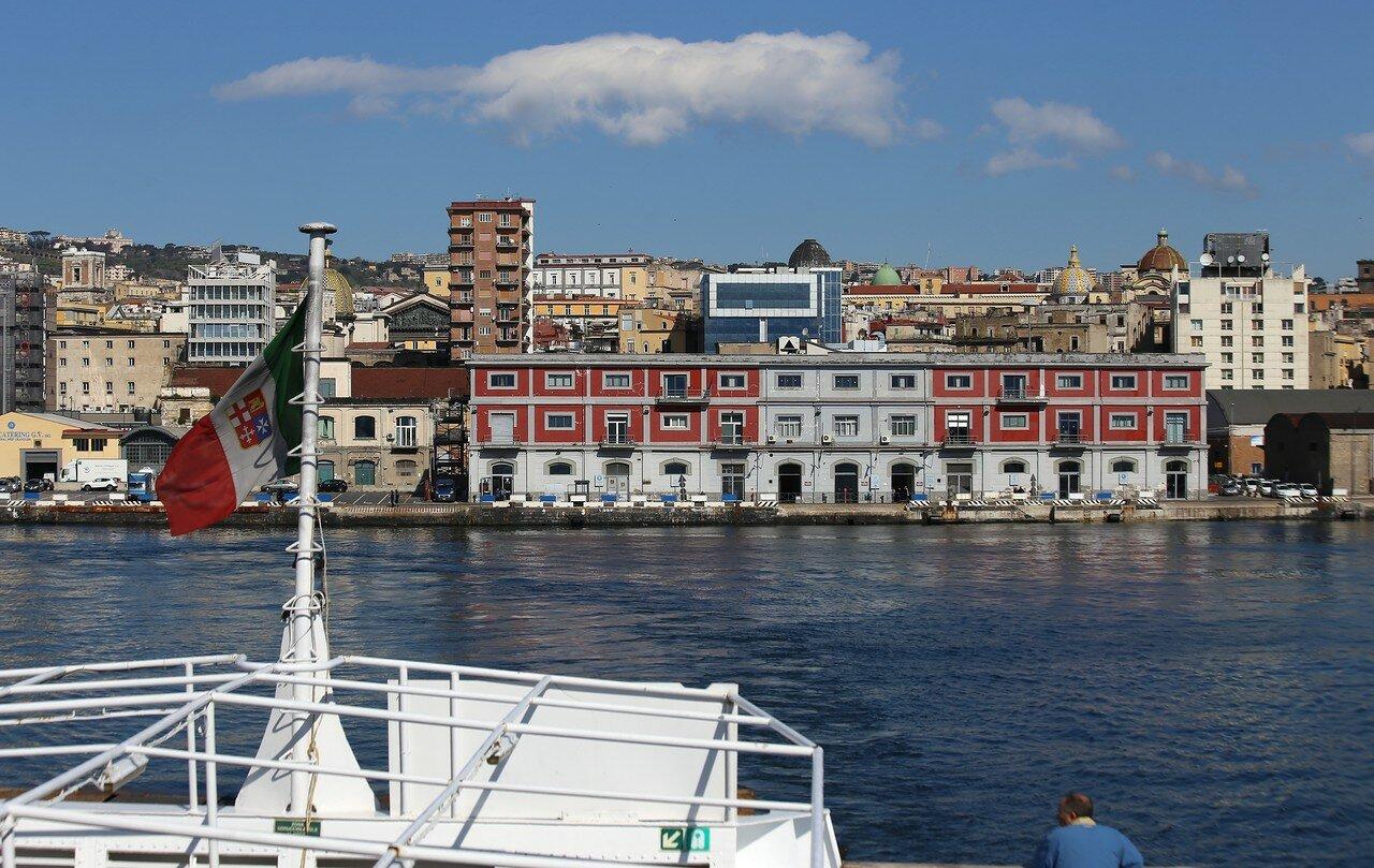 Naples. Porta di Massa (Calata Porta di Massa), ferry port