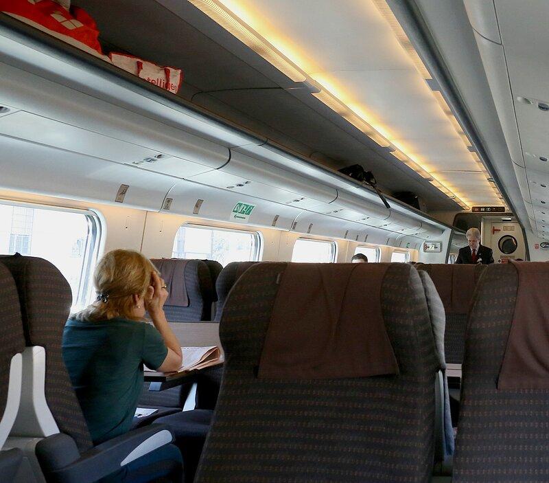 Поезд Неаполь-Рим