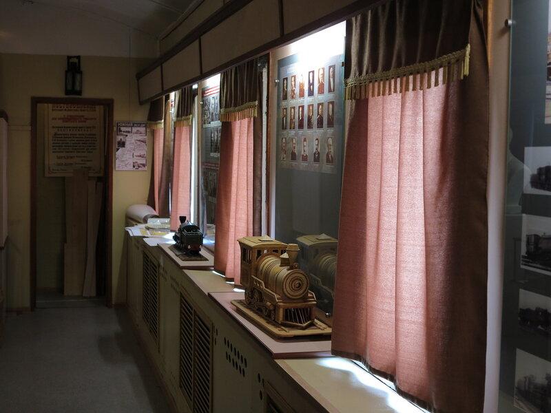 поезд-музей РЖД, Вокзальная улица, Белгород (10).JPG
