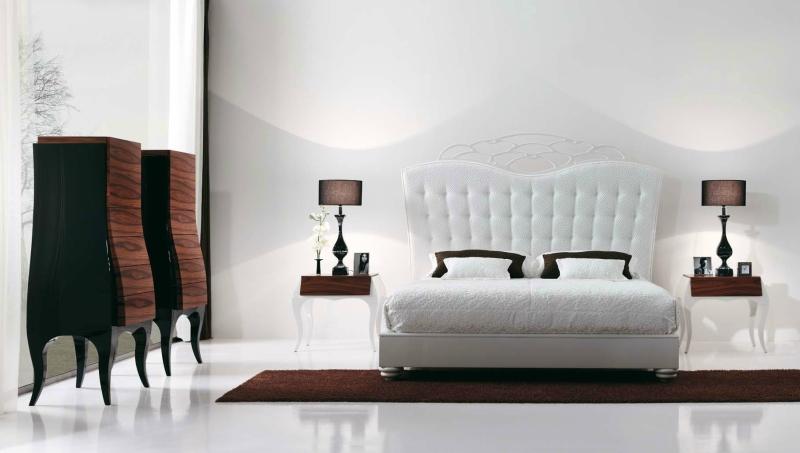Белый цвет в интерьере спальни фото (9)