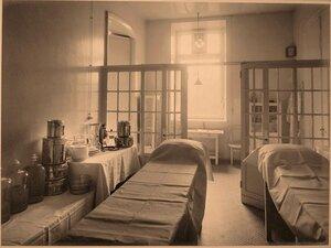 Вид части перевязочной госпиталя.