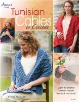 Книга Tunisian Cables to Crochet jpg  59Мб