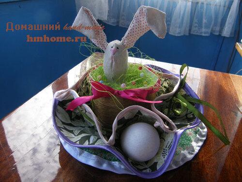 Пасхальная салфетка для яиц и кулича