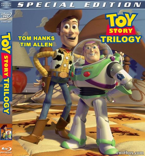 История игрушек. Трилогия / Toy Story. Trilogy / 1995-2010 / ДБ, 2 х ПМ, АП (Визгунов, Живов), СТ / BDRip (720p)