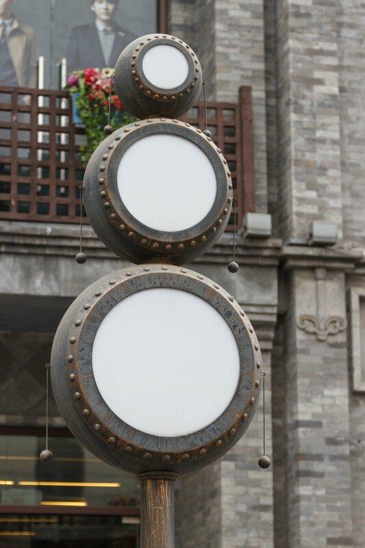 Светильник, улица Цяньмэнь, Пекин