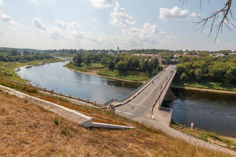 "Волга и ""Старый"" мост, Ржев"
