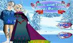Игра Холодное Сердце одень Принцессу Эльзу