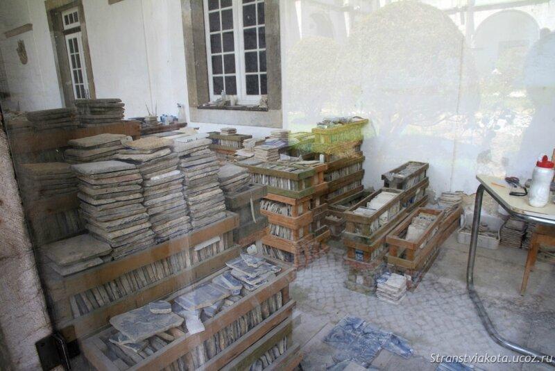 Восстановление старинных панно из азулежу в лиссабонском Музее азулежу