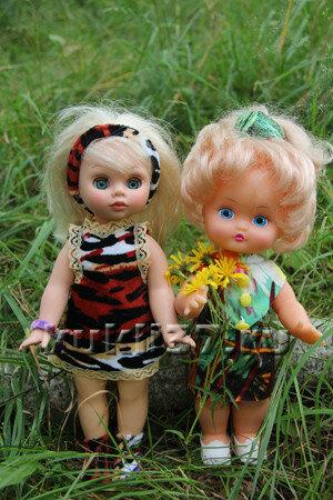 сарафаны для куклы ростом 25 см