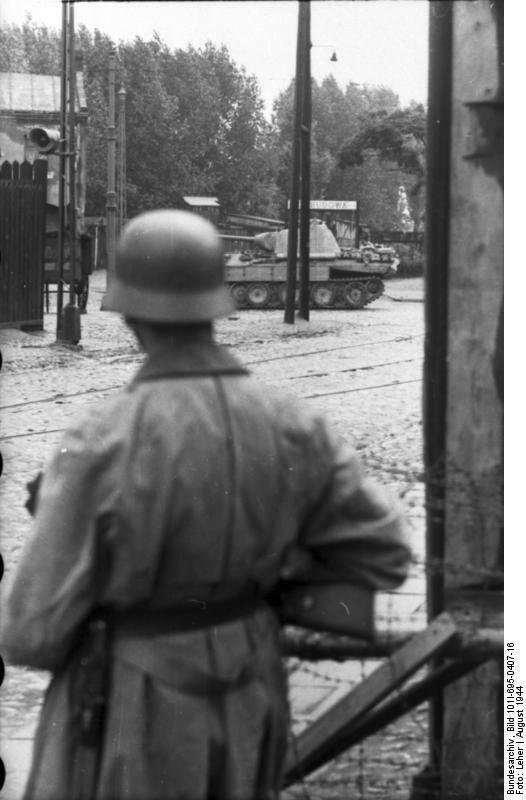 Warschauer Aufstand, Soldat