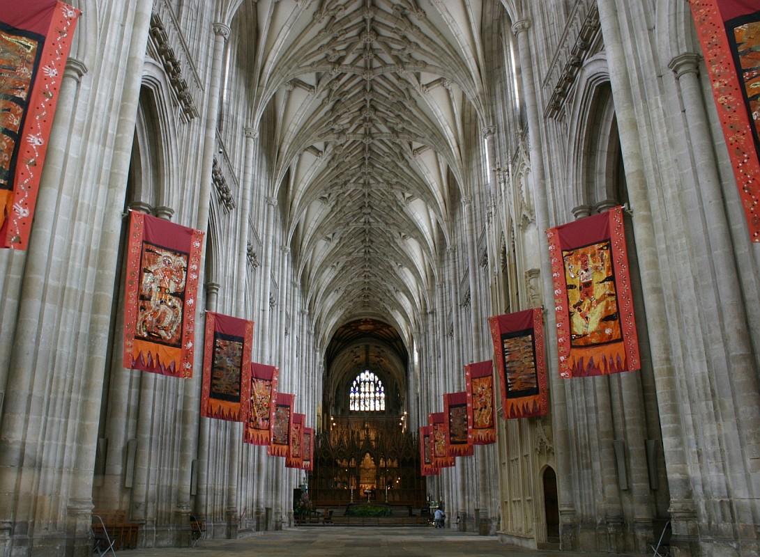 Интерьер Уинчестерского собора