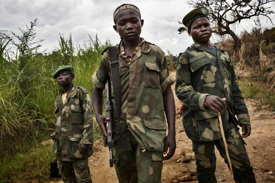 Конго - солдаты на снимках британского фотографа Marcus Bleasadale (10)