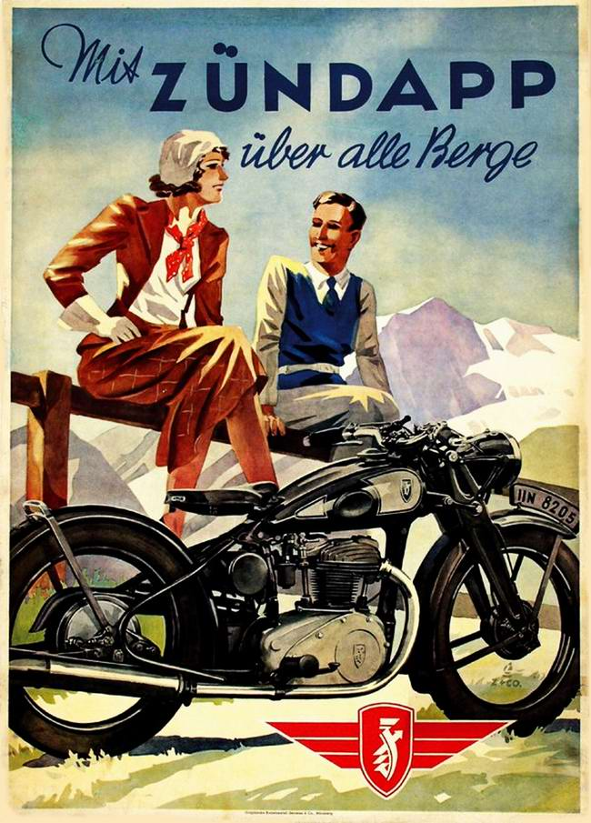 Zundapp - Германия (1938 год)